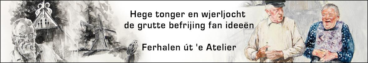 Ferhalen út 'e Atelier yn Frysk